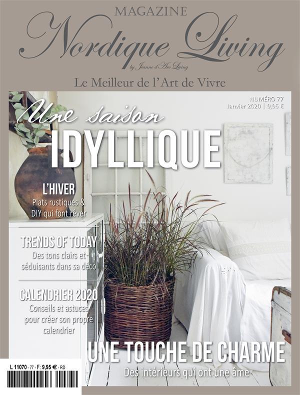 Magazine Nordique Living de Jeanne d'Arc Living
