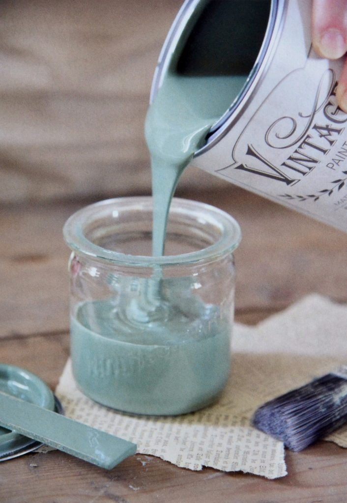 Peinture Vintage Paint Dusty Turquoise