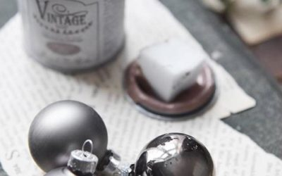 Réhabiliter vos boules de Noël avec Vintage Paint