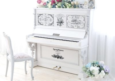 Exemple Transfert redesign SPRING FLOWER Piano