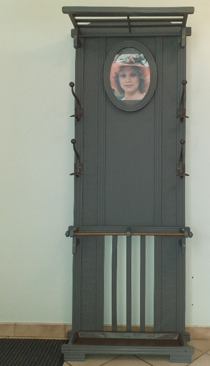 Meuble entrée porte manteau APRES